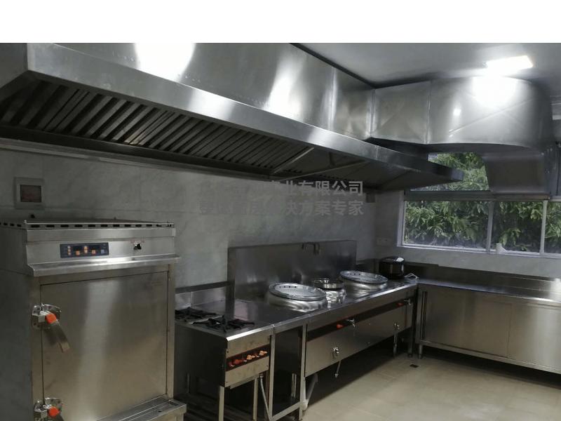 超节能小炒炉连蒸柜厨房案例