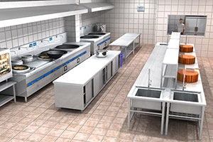 shang用厨房上xiashui设施设计原则