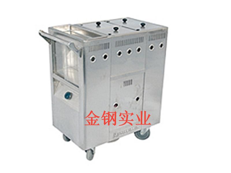 不锈钢保温餐车A
