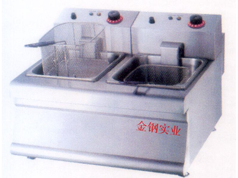 双缸电炸炉
