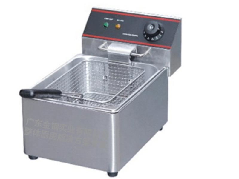 台式单缸电炸炉